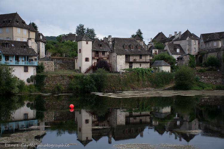 Argentat, reflets sur la Dordogne