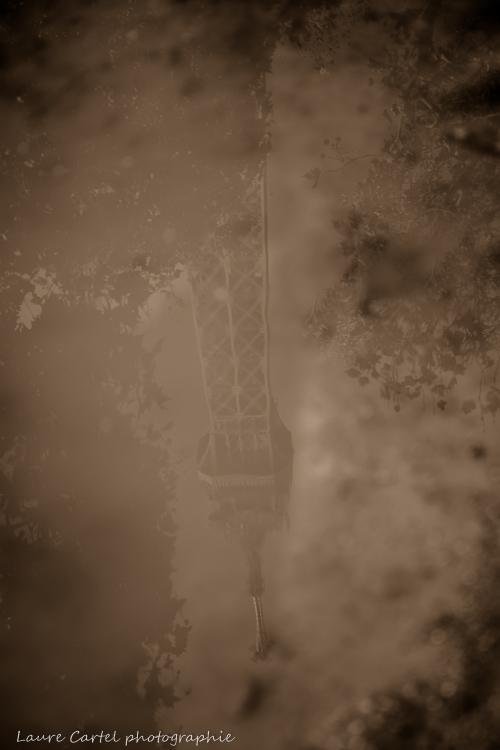 Puddle of mud (version sepia)