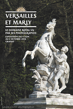 Affiche de lexposition versailles et marly le domaine royal vu par ses photographies 2