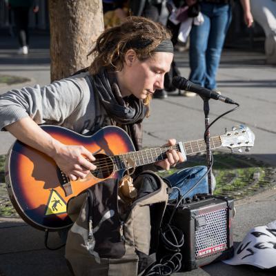 Street photography - Electro-choc