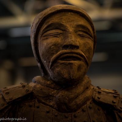Soldat de l'armée enterrée de Qin Shi Huang