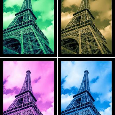 La Tour Eiffel et les environs