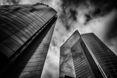 La defense skyscraper