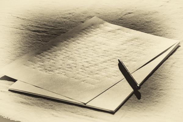 Page d ecriture by laure cartel